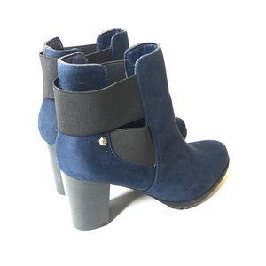 Women's boots size 7 blue navy nwot